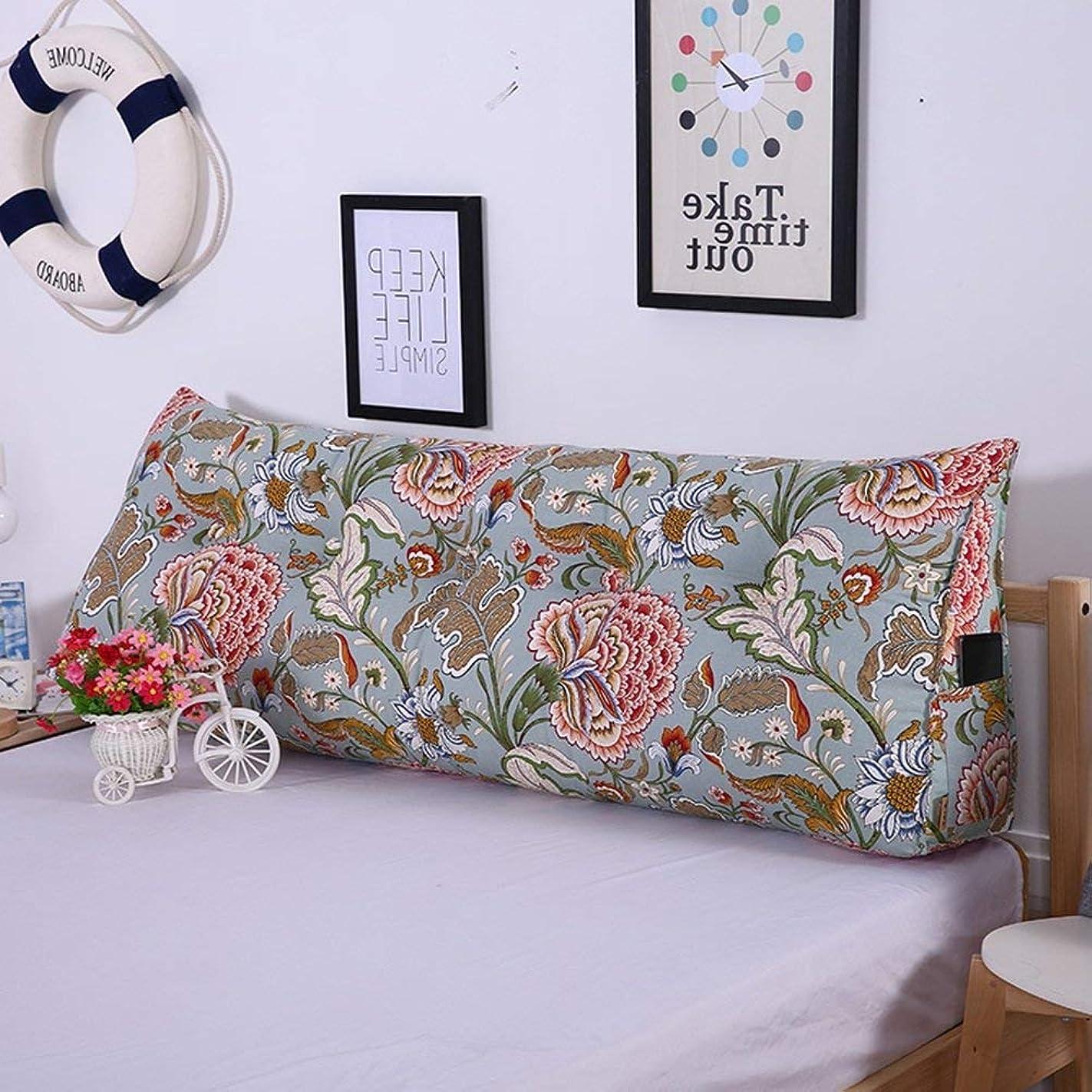 圧縮暴露する舌なLts ウェッジヘッドボードベッドサイドクッションパッド布アート三角枕多機能大型バックパッド、洗える、7色、7サイズベッド背もたれパッド (Color : 6#, サイズ : 70 x 20 x 50 cm)