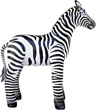 Jet Creations Inflatable Zebra Great For Safari Baby Showers & Zoo Themed Children'S Parties Photo Prop Stuffed Animal 56