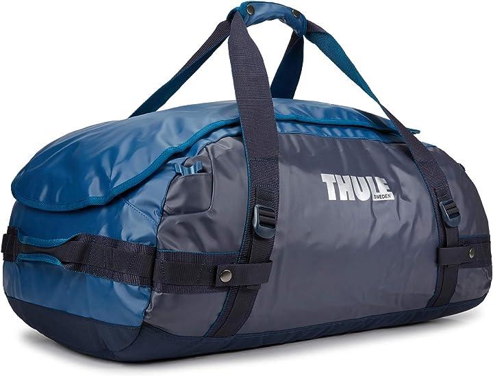Borsa per la palestra thule m - 70 litres bleu poseidon 3204416