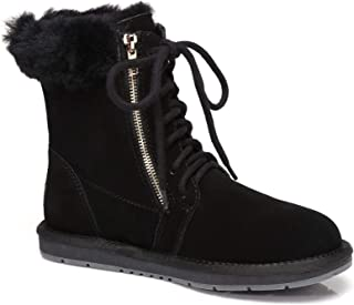 AS UGG Front Lace Zip Ladies Short Boots #15565