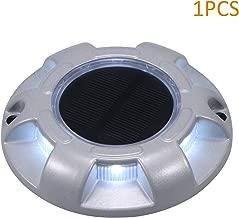 Lixada 1 PCS Lampada da Giardino a Energia Solare PIR Motion e CDS Night Sensor LED Applique per Esterni 35 LED Impermeabili