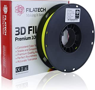 Filatech PETG Filament, Lum. D. Yellow, 1.75mm, 0.5KG