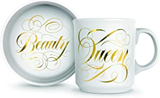 Fred Howligans Mug & Basic Bowl for Cats - Beauty Queen