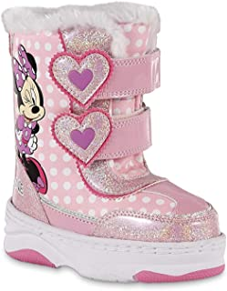 Minnie Mouse Toddler Girls Pink Winter Boot