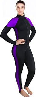 Ivation Womens Wetsuit - Lycra Full Body Diving Suit & Sports Skins for Running,  Exercising,  Snorkeling,  Swimming,  Spearfishing & Water Sports