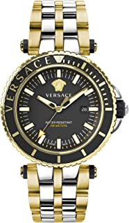 Versace Mens V-Race Diver Watch