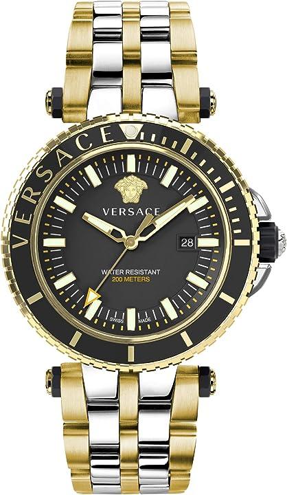 Orologio versace veak00518 v-race mens watch - orologio uomo versace