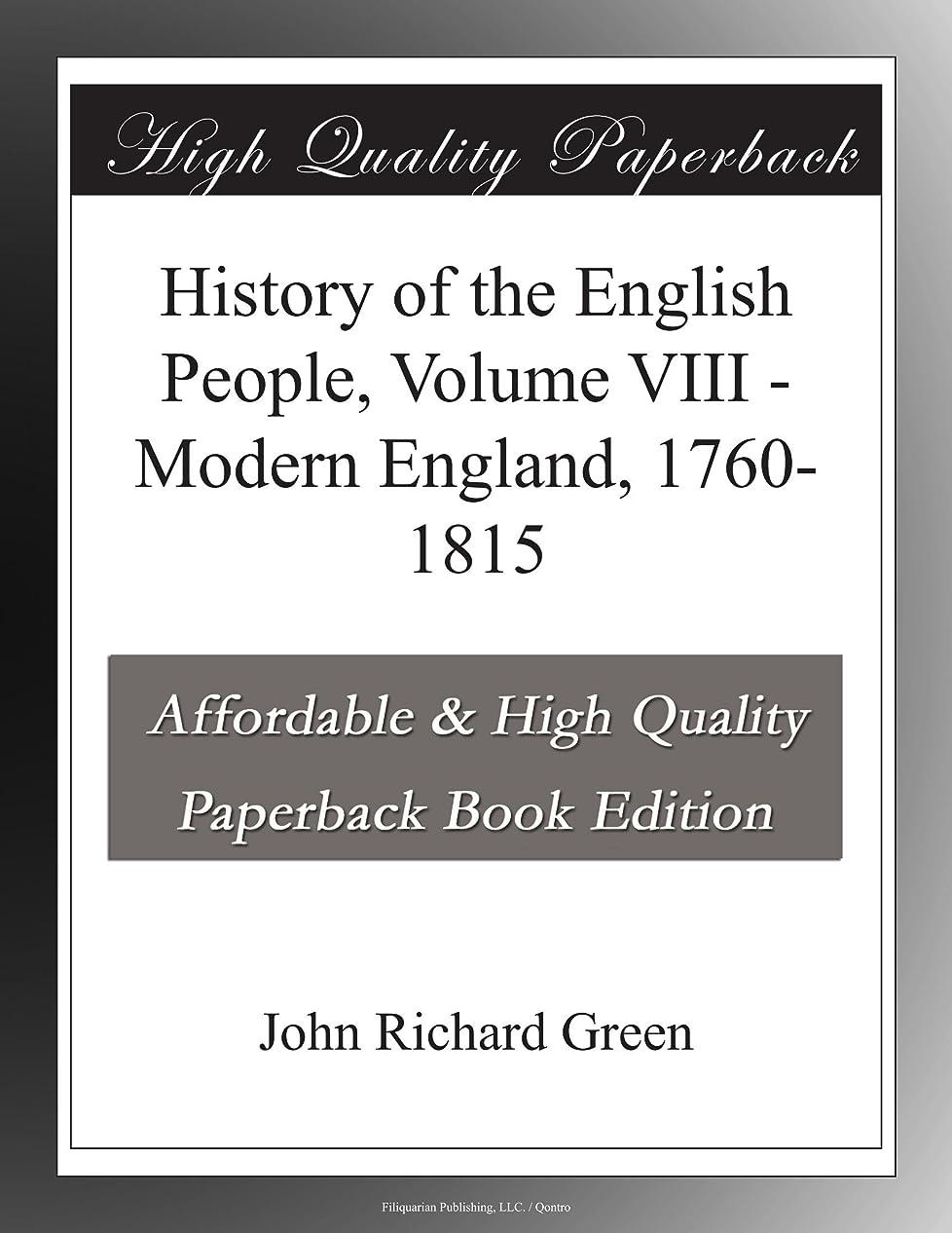 音早めるドレスHistory of the English People, Volume VIII - Modern England, 1760-1815