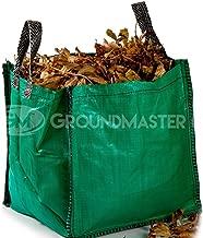 Sacchi per rifiuti da giardino 90L Groundmaster – sacchi pattumiera grandi con manici resistenti.