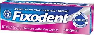 Fixodent Denture Adhesive Cream Original 0.75 oz (Pack of 5)