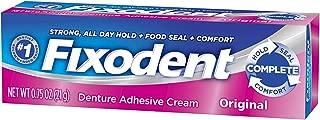 Fixodent Denture Adhesive Cream Original 0.75 oz (Pack of 3)