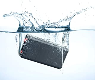 PINSOON Portable Wireless Bluetooth Speaker 4.2 with Enhanced HD Stereo Sound - UP to 24 Hours Playtime at 60% Vol. IPX7 Waterproof, Deep Bass, Built-in Mic, 33ft Wireless Range for iPhone, Android