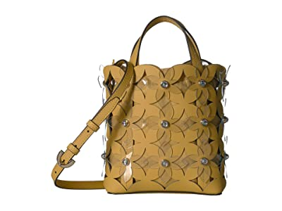 ZAC Zac Posen Floral Bouquet Small North/South Shopper (Sun) Handbags