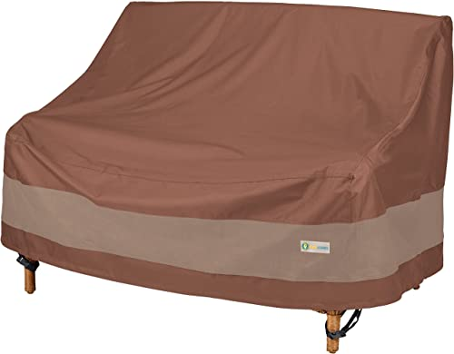 Duck Covers Ultimate Waterproof Patio Loveseat Cover, Durable Outdoor Sofa Cover, Heavy Duty Lawn Patio Furniture Cov...