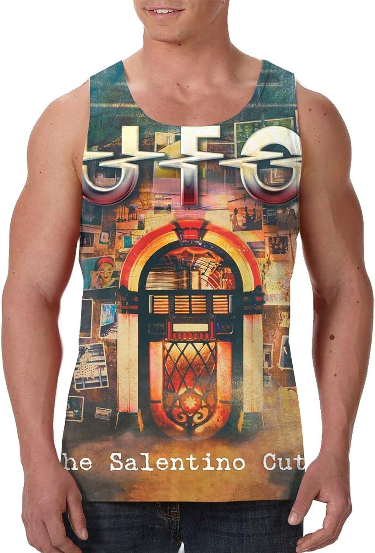 AlexBCody Ub40 The Salentino Cuts Tank Top Man's Summer Cool Sleeveless Tee Sport Gym Vest