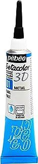 Setacolor 3D Fabric Paint, 20ml, Metal Pearl