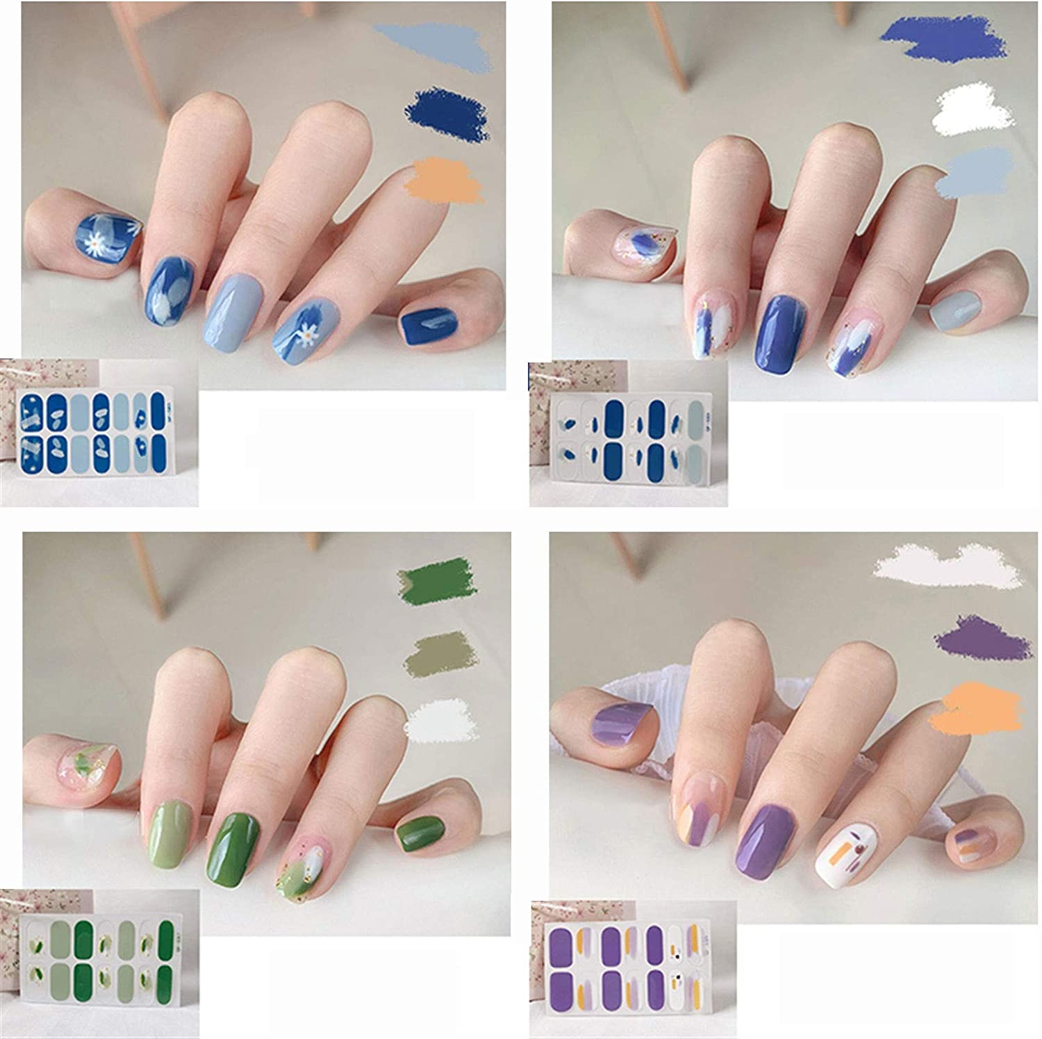 Nail Stickers Sticker Our shop OFFers the best Animer and price revision service Summer Na Graffiti Fresh