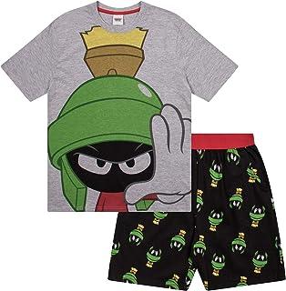 Looney Tunes - Pijama Corto de Space Jam para Hombre - Producto Oficial