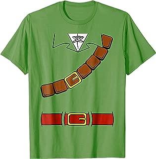 Nintendo Zelda Basic Link Belt and Harness Costume T-Shirt
