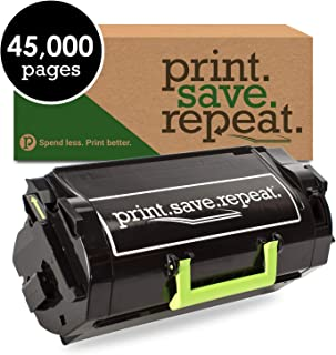 Print.Save.Repeat. Lexmark 521XE Extra High Yield Remanufactured Toner Cartridge for MS711, MS811, MS812 [45,000 Pages]