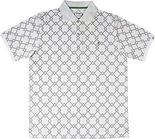 Golf by Slj Men Samuel L. Jackson Golf Argyle Tex Polo Shirt