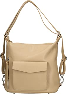 Aren - Shoulder Bag Borsa a Spalla da Donna in Vera Pelle Made in Italy - 37x29x13 Cm