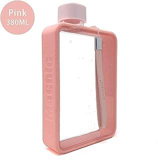 Mochic A5 Water Bottle Canteen Flask Flat Portable Travel Mug Handbag Slim Cold 13oz 380ml
