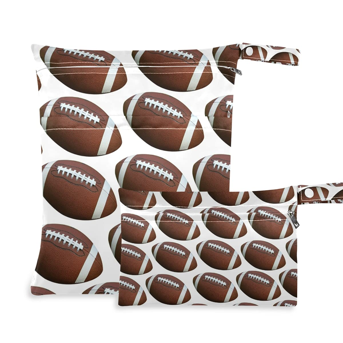 American Footballs Isolated Wet Diaper Some reservation Popular products Reusable Bag Dry