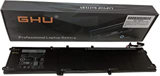 New GHU 6GTPY 97 Wh Battery Compatible with Dell XPS 15 9560 9550 Precision 5510 5520 M5520 Replacement for 5XJ28 i7-7700HQ H5H20 5D91C Laptop [Li-ion 6 Cell 11.4V 18 Months] Warranty 6GTPY