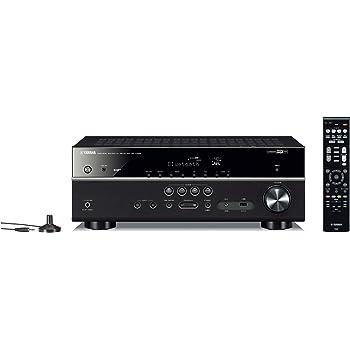 Yamaha RX-D485 Sintoamplificatore AV, 5.1 canali, Wi-Fi, DAB Tuner, Potenza dinamica per canale (110 / 130 / 160 W), Nero
