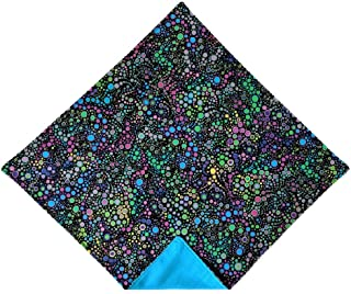 Holiday Bow Ties Mens Mardi Gras Pocket Square Colorful Polka Dot Handkerchief
