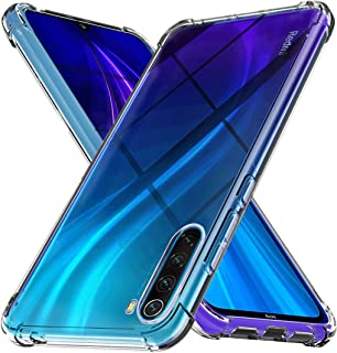 Case for Xiaomi Redmi Note 8,[Strengthen Version with Four Corners] [Camera Care Protection] Shockproof Soft TPU Rubber Sk...