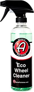 Adam's New Eco Wheel Cleaner 16oz - Safely Clean Any Wheel Finish - Tough on Dirt and Brake Dust But Gentle on Your Wheels and The Environment
