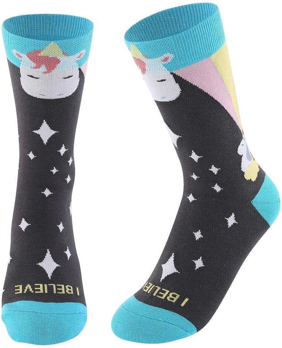 I Believe in Unicorns Women's Finally popular brand Socks Shipping included Crew