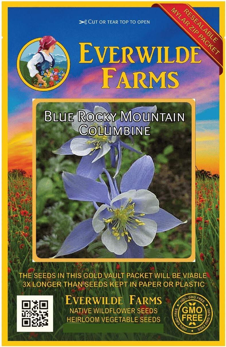 Everwilde OFFicial shop Farms - 800 Blue quality assurance Mountain Wildf Rocky Columbine Native