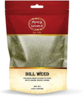 Dill Weed | Perfect Seasoning and Spice for Salads and Soups | By Spicy World (14 Oz)