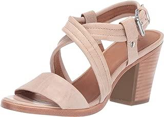 Womens Dani Criss Cross Heeled Sandal