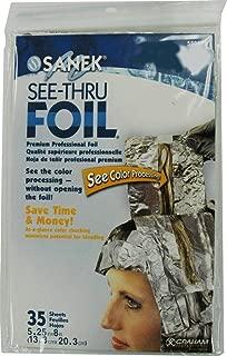Sanek See-Thru Foil Packet 580178 (Pack of 2)