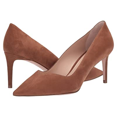 Stuart Weitzman Anny 70 (Basket Brown Suede) Women