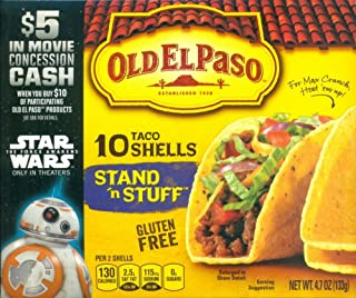 Best are old el paso taco shells gluten free? Reviews