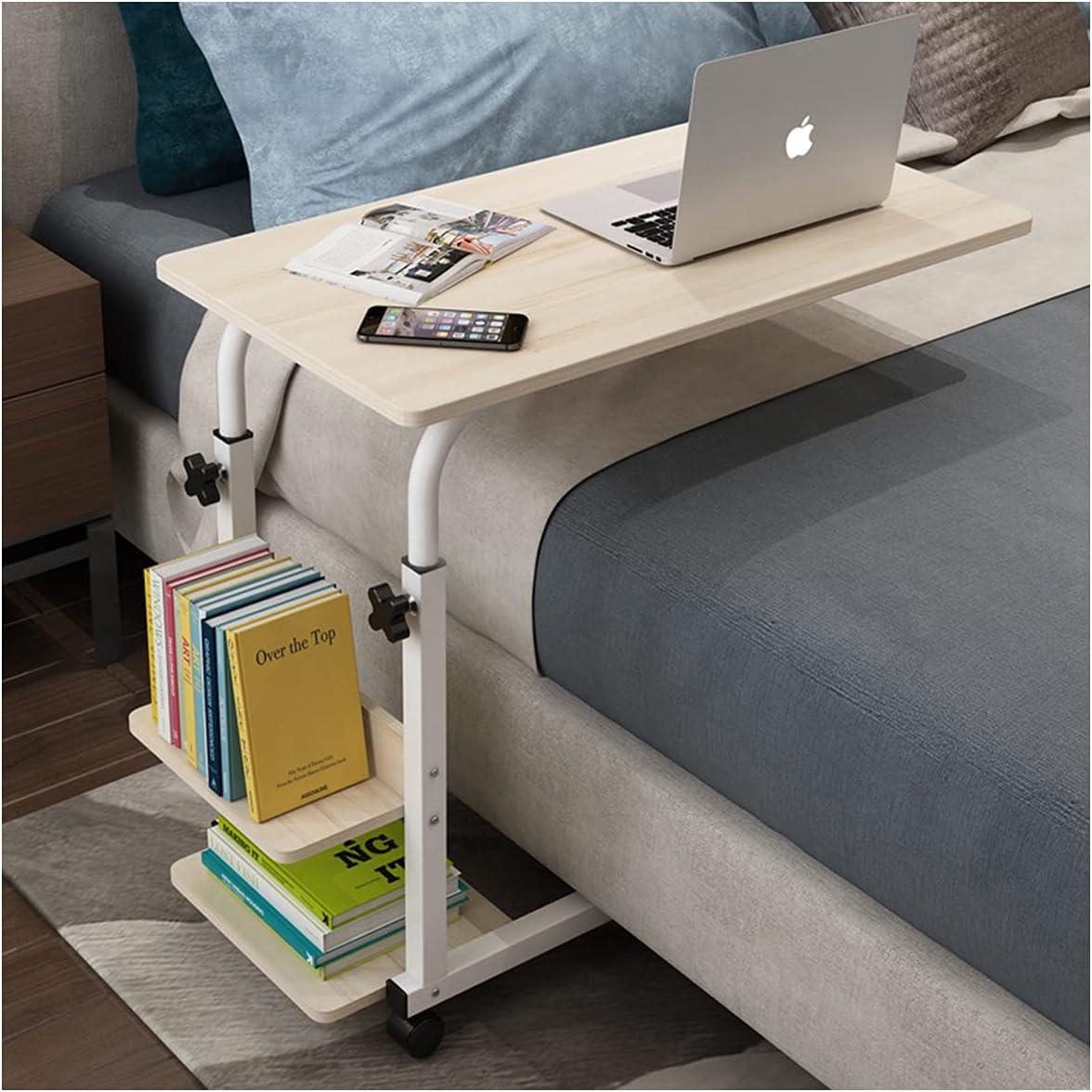 Medical Adjustable Overbed Bedside 男女兼用 Table Desk Movable Cabinet 安全 w