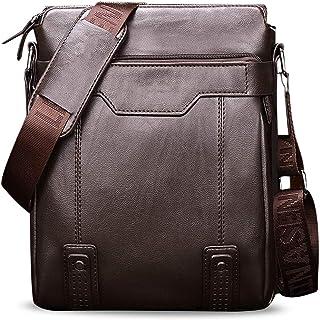 Herren Schultertasche Tasche Aus Leder,Für 9.7 Zoll Ipad Moderne Leder Schultertasche Für Männer Aktentasche Laptoptasche ...