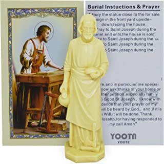chengxin001 Saint Joseph Statue Home Seller House Selling Kit with Instrutions and Prayer Card