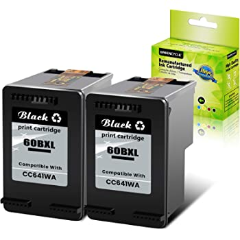 Black, 8 Pack SuperInk Remanufactured High Yield Ink Cartridge Compatible for HP CC641WN 60 60 XL 60XL Replacement for Deskjet F4480 F2430 D2530 Photosmart C4795 C4680 D110a Envy 120 111