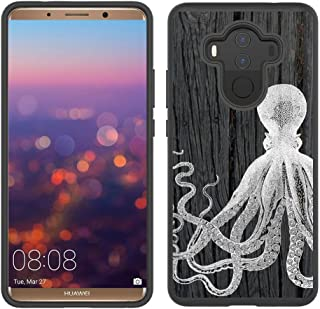 Corpcase - Hybrid Case for Huawei Mate 10 Pro - Octopus On Dark Wood/Unique Case with Great Protection