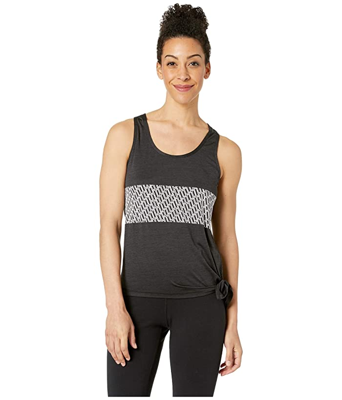 PUMA Bold Logo Tank (Puma Black Heather) Women