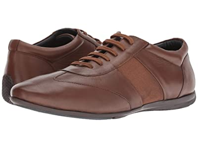 CARLOS by Carlos Santana Fleetwood Low-Cut (Walnut Calfskin Leather) Men