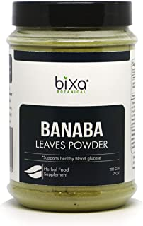 Banaba Leaf Powder (Lagerstroemia speciosa), Supports Healthy Blood Glucose by Bixa Botanical - 7 Oz (200g)