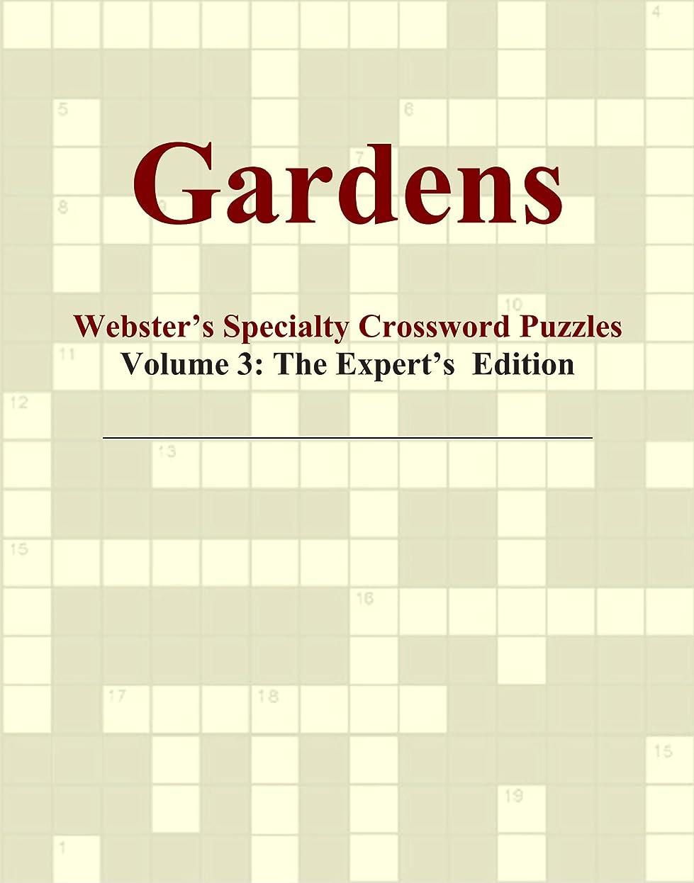 統治可能嫌がる重要Gardens - Webster's Specialty Crossword Puzzles, Volume 3: The Expert's Edition
