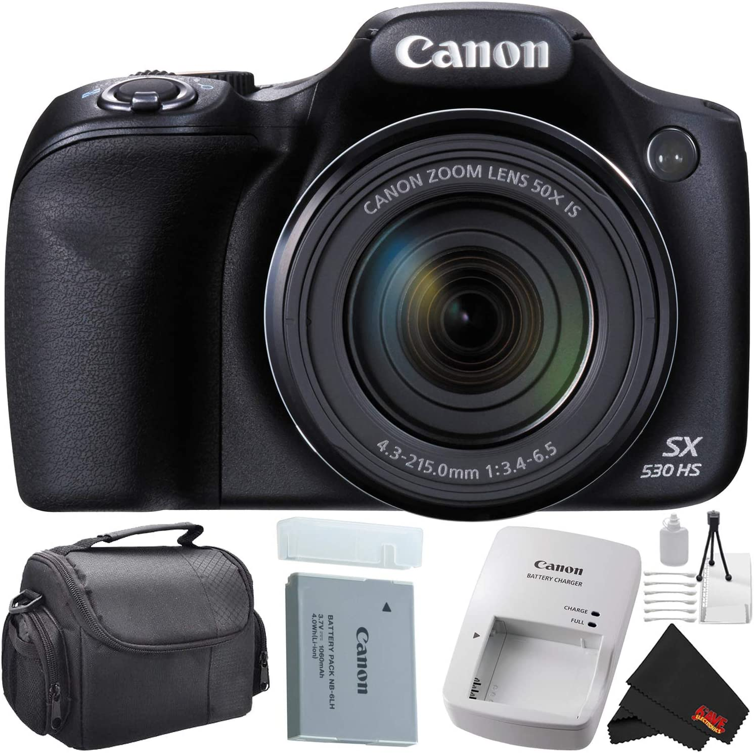Max 45% OFF Canon Max 68% OFF PowerShot SX530 HS Digital Zoom 50X Optical Bundle Camera